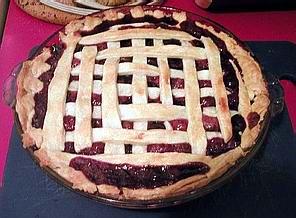 Lattice cgerry pie