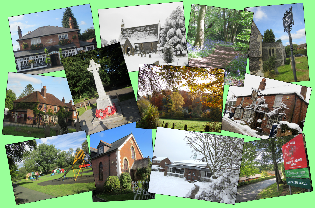 Seer Green photo collage